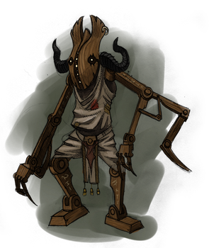 Wooden Gug by Ursca