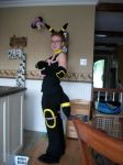 Umbreon cosplay by Sasophie