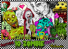 Another 10 Zombie PNGs by Bellacrix