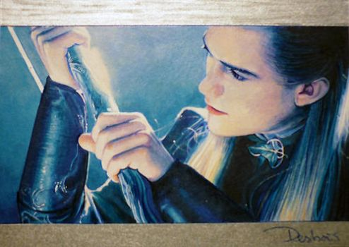 Elven Bow Mastery by DavidDeb