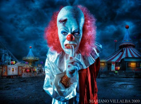the midnight clown show by mariano7724