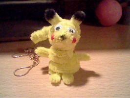 Pipe Cleaner Pikachu by Clueless825