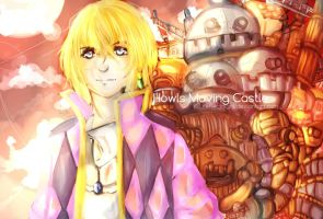 Howl's Moving Castle - Fanart by reflectnight