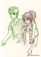 Percy and Piper by Sandra-13