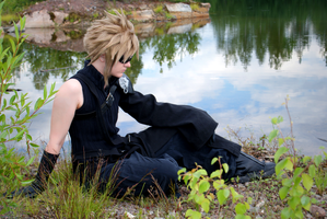 Cloud Strife by mellierau