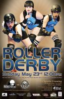 May 23rd Bout Poster by schwa242