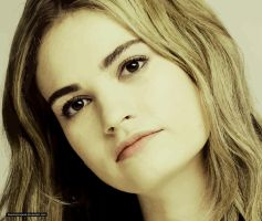 Lily James by thephoenixprod
