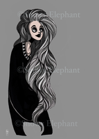 The Gray Lady by Homemadedarkmark