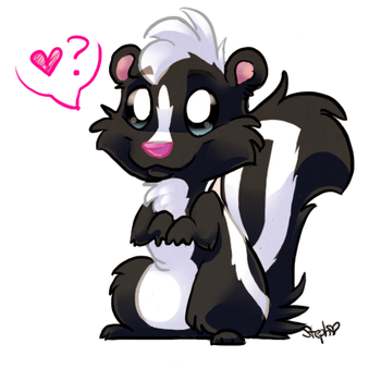 Skunky by kittybounce
