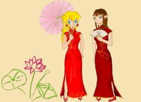 Chinese Princesses by Xiaomei23