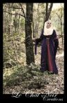 Lady In The Woods_I by LeChatNoirCreations