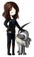 Comm - Banifi and Absol by Zel-Duh