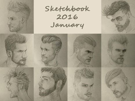 Sketchbook 2016 - January by Charmyto