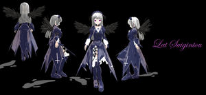 MMD - LAT Suigintou by R3flecti0nOfDarkn3ss