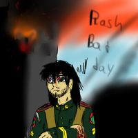 Rash Bad day by comic-maker