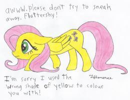 i'm so sorry fluttershy by MetaDragonArt