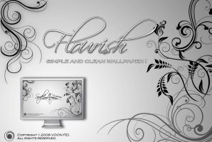 Simple and Clean 'Flourish' by HolyWiz