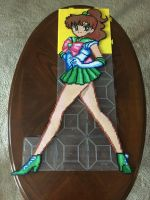 Sailor Jupiter Perler Bead Art by jnjfranklin