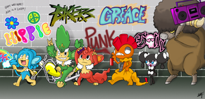 PKMN subcultures conga by PepperSupreme