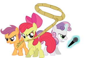 Cutie Mark Fighters Step 1 by Jakeneutron