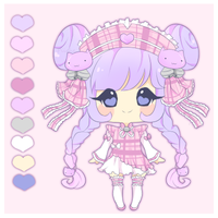 Adoptable- Plaid Cutie [Closed] by myaoh