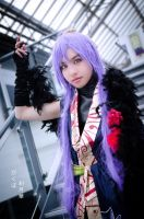 Gakupo Fleeting Moon Flower Cosplay by thechevaliere