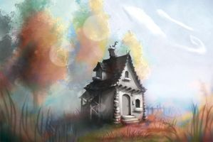 Little Gray House by Aydiah