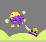 Wario use Weezing by 115spartan