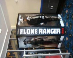 Movies 278  The Lone Ranger Display July 8th,2013 by CrappyMSPaintArt