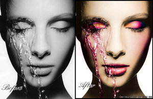 Colorization Face Part 2 by xiggy01x