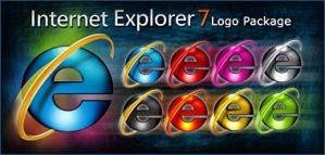 Internet Explorer 7 Icon Pack by rear