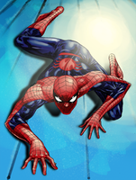 Crawling Spidey - Bobby Dash by SpiderGuile