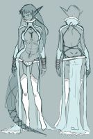 oldCharacter concept - Shizara by ebba