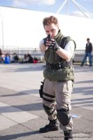 Chris Redfield Cosplay by KyleMarsh