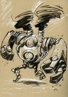 Blitzcrank by Pencil-Fluke