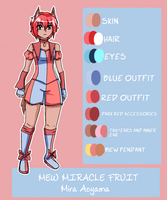 Mew Miracle Fruit reference sheet by sanchoyo