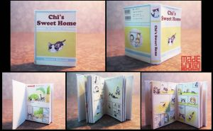 Chii Sweet Home miniature book by sakyachan