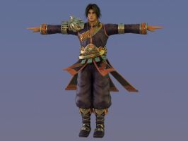 Kilik Soul Calibur 4 XNALara Render by Stylistic86
