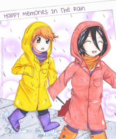 IchiRuki - Happy Memories in the Rain by BitterSweetNitemare