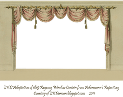 1819 Swag Curtain - Room with a View by EveyD