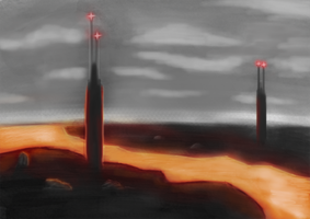 Lava Speed Painting by Jizzy342