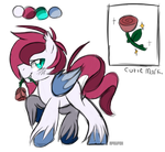 Red Rose Bat Pony AUCTION :CLOSED: by Apriifox