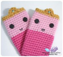 Princess Bubblegum Cell Phone Cozy 2 by moofestgirl