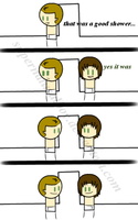 Wincest Comic The Shower by supernaturalboy