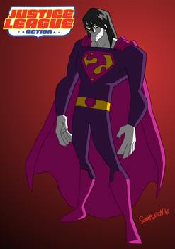 JL Action: Bizarro! by Scrap-Witch