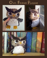 Owl Friend Plushie by Paleona