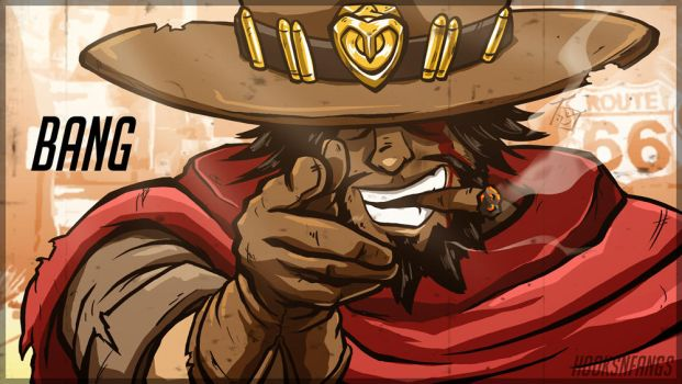 McCree Bang by hooksnfangs