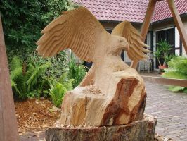 eagle in progress6 by woodcarve