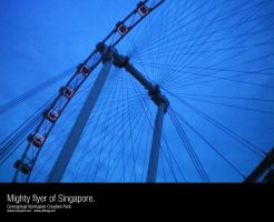 Mighty flyer of Singapore by dehog
