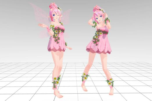 MMD Tda Luka Elf and Human Download !! by InoriAruma